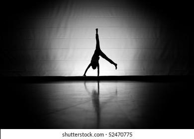 cartwheel on floor