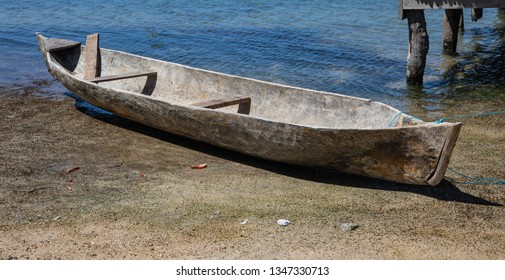 Carved out boat