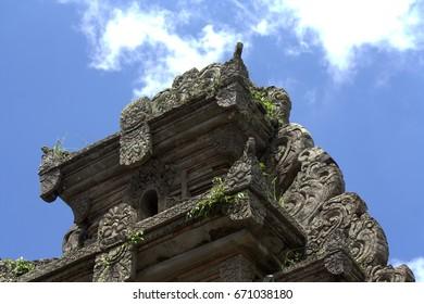 Carving art in Bali