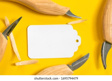 carving tools, knife and carving tools with tag