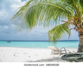 Cas Abao beach in Curacao, Dutch Caribbean