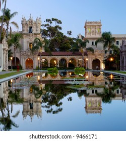 Casa De Balboa at dawn, Balboa Park, San Diego