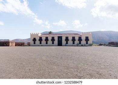 The Casa de los Coroneles – House of the Colonels – in La Oliva (Fuerteventura, Spain), from the second half of the 17th century