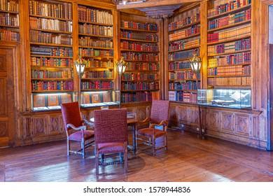 CASA DE MATEUS, PORTUGAL, MAY 25, 2019: Interior of Casa de Mateus estate in Portugal