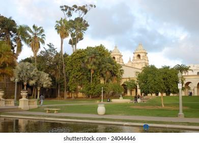 Casa del Prado; Balboa Park; San Diego, California