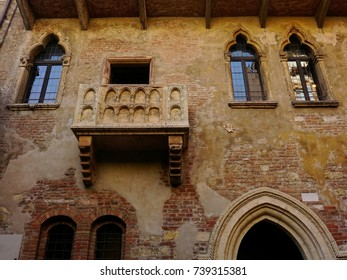Casa di Giulietta. Juliet`s house. Verona, Italy