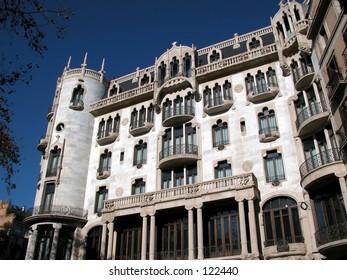 The Casa Fuster, Barcelona, Spain.