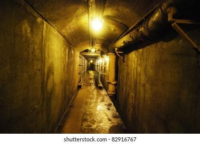 Casa Loma Tunnel in Toronto, Canada