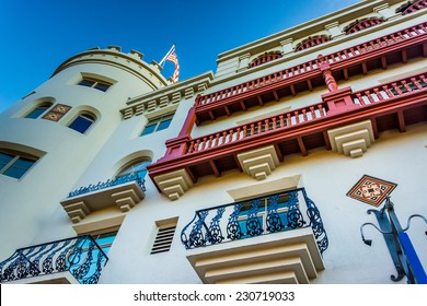 The Casa Monica Hotel in St. Augustine, Florida.