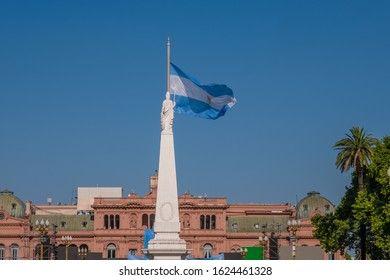 Casa Rosada, seat of the Argentinian president and executive power, Buneos Aires, Argentina
