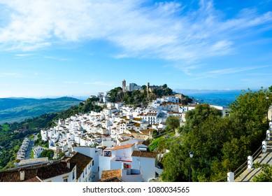 Casares, Costa del Sol Occidental, Malaga, Andalusia, Spain, Iberian Peninsula