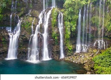 Cascade de Grand Galet - Paradise Waterfalls in Reunion Island