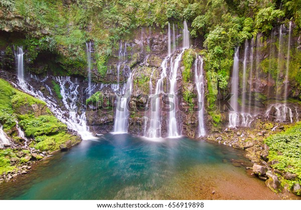 Cascade de Grand Galet - Paradise Waterfalls in Reunion Island