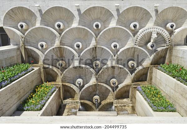 Cascade Fountain Yerevan Armenia Stock Photo Edit Now 204499735