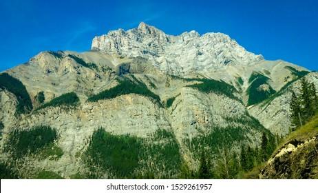 Cascade Mountain in Banff National Park, Alberta, 2015