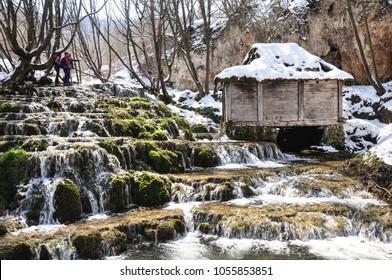 Cascade waterfalls  Serbia
