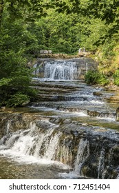 Cascades du Herisson, Waterfalls of the Herisson in the French Jura