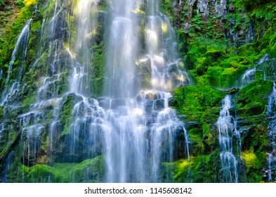 Cascading Water at Proxy Falls Oregon