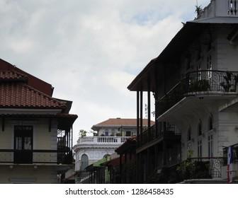 Casco Viejo (Historic Center - old town) of Panama City.