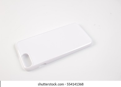 Case for smartphone. Isolated on white background