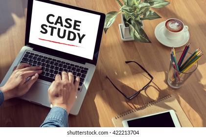 CASE STUDY  man hand on table Business, coffee, Split tone