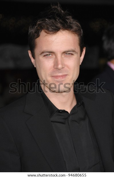 "Casey Affleck at the Los Angeles premiere of his new movie ""Gone Baby Gone"" which marks his brother Ben Affleck's directorial debut. October 9, 2007  Los Angeles, CA Picture: Paul Smith / Featureflash"