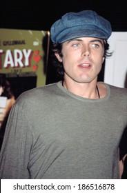 Casey Affleck at premiere of SECRETARY, NY 9/18/2002