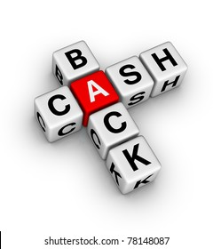 cash back label