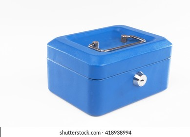 Cash Box isolated against white