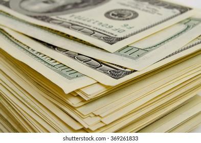 Cash dollars lying on the plane.