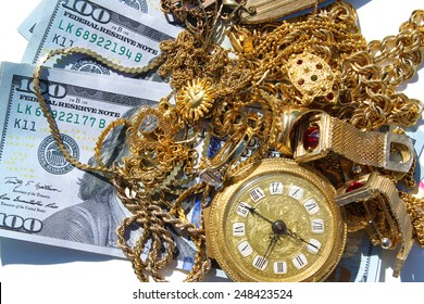 Cash For Gold Jewelry Stock Images RoyaltyFree Images Vectors