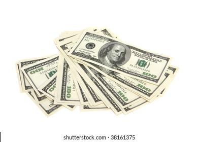 Cash - hundred dollar bills