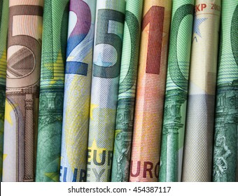 cash money - euro bills / european money