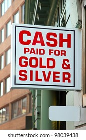 Cash paid for gold and silver jewellery