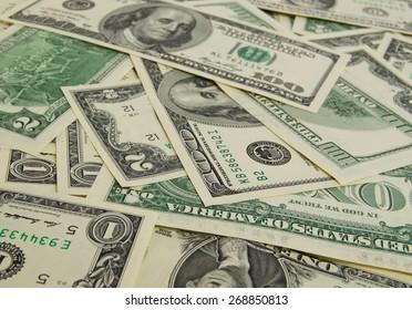 A lot of cash US dollars.