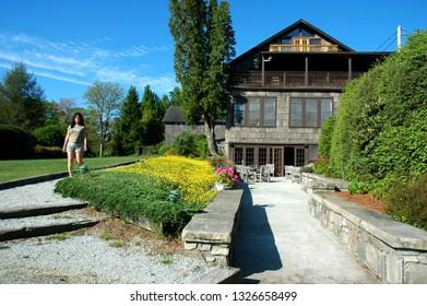 Casheirs, USA, North Carolina, High Hampton Inn and Country Club, The Main Lodge, Rock Mountain Tavern & Terrace lower level, May 30, 2006