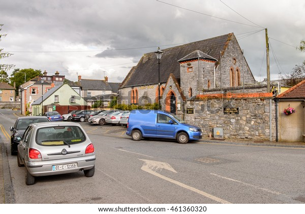 CASHEL, IRELAND - JULY 12, 2016: View of Cashel, a town in County Tipperary in Ireland