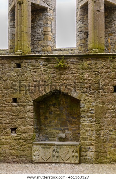 CASHEL, IRELAND - JULY 12, 2016: Chapel of King Cormac Mac Carthaigh on the Rock of Cashel (Carraig Phadraig), Cashel of the Kings and St. Patrick's Rock, is a site at  County Tipperary, Ireland