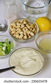 cashew mayo ingredients vertical
