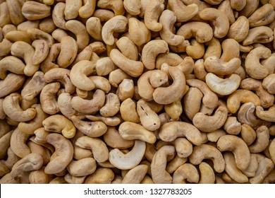 Cashews nuts background
