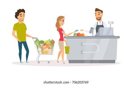 Retail Cashier Images, Stock Photos & Vectors | Shutterstock