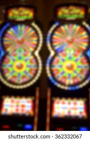 Casino Blur Focus Background