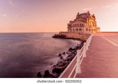 Casino Constanta sunset