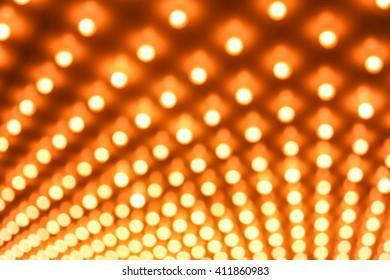 Casino lights defocused out of focus background image