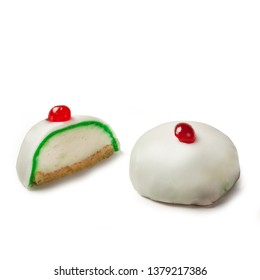 """""""Cassatelle di Sant'Agata"""" typical sweetie from Catania - Sicily - Cassata cake, Cassata siciliana, traditional sweet from Palermo Messina Catania for Easter, Sicily, Italy"""