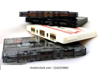 Cassetes mixtapes 80s music