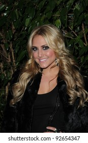 Cassie Scerbo  at the QVC Red Carpet Style Party, Four Seasons Hotel, Los Angeles, CA. 02-25-11