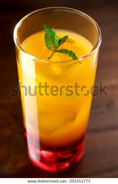 Cassis Orange Cocktail Stock Photo Edit Now 201652775