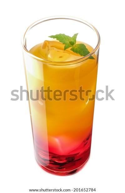 Cassis Orange Cocktail Stock Photo Edit Now 201652784