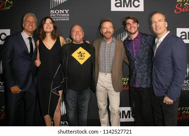 """Cast of """"Better Call Saul"""", """"Breaking Bad"""" at AMC's """"Better Call Saul"""" season 4 premiere at the UA Horton Plaza 8 on July 19, 2018 in San Diego, CA."""